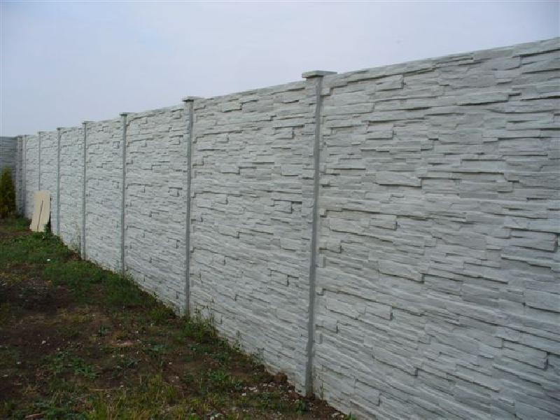 Betonove ploty vzor tehla