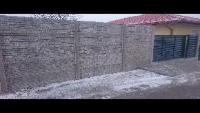 Betonový plot obojstranný eko