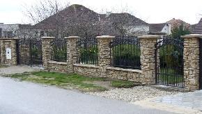 Murovaný plot  vzor kameň