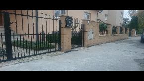 Brána kovaná