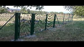 Brána dvojkrídlová, záhradná